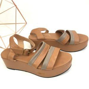 Robert Clergerie | platform leather sandal